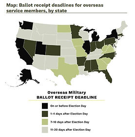 Non-partisan group Count Every Hero demands states hold off on declaring a winner until every single military ballot is counted