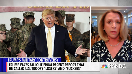 Debbie On Trump Denigrating US Service Members