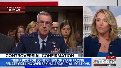 """Deborah Lee James on MSNBC 7/30/19, """"Controversial Confirmation"""""""