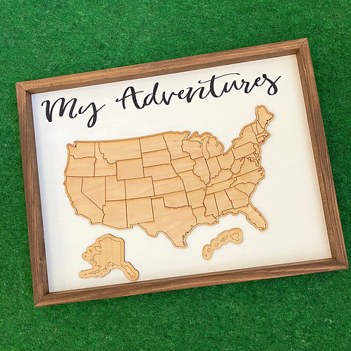 Family Adventures Sign