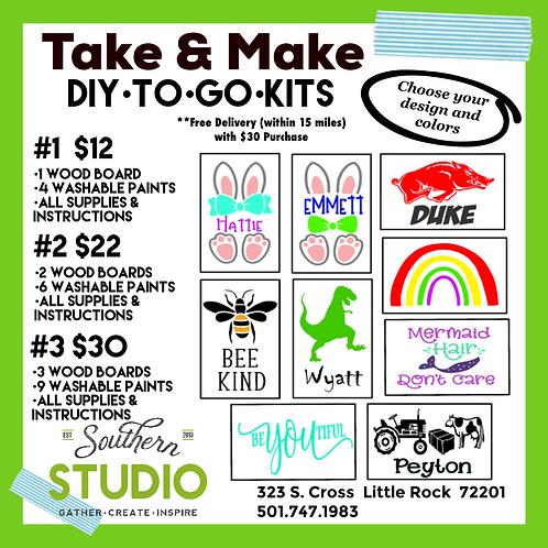 Take & Make Kids Boards