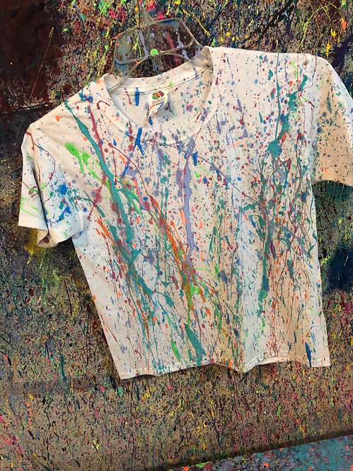 Splatter Paint T-Shirts $18- $22