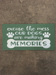 Dogs are Making Memories