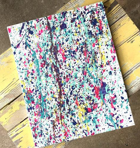 Splatter Paint Canvas $18- $25