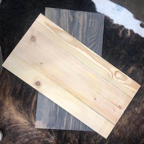 Shiplap Style Pallet Board