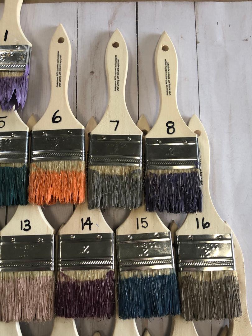 Current Paint Colors