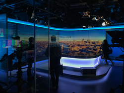 Television studio filming