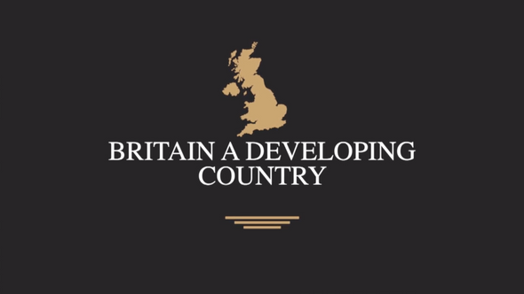 Britain A Developing Country