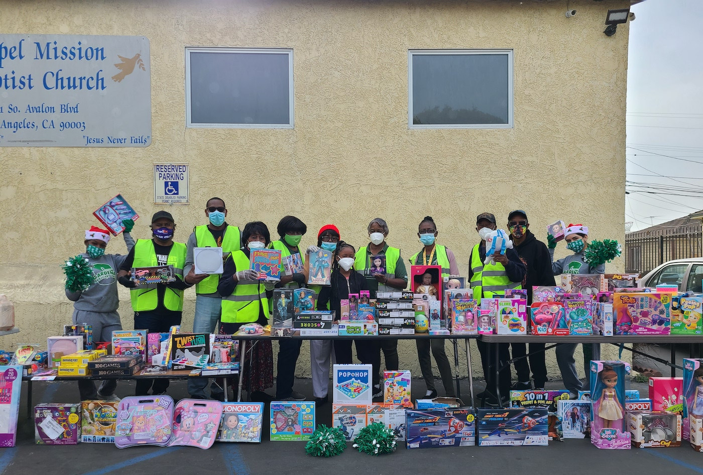 toy giveaway 2020