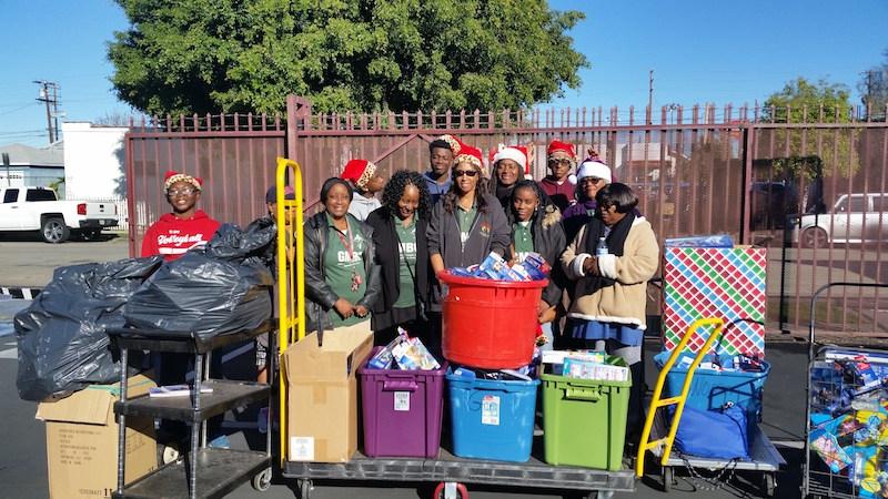 Christmas Toy Distribution