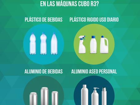 Lo que debes saber sobre los tipos de envases que recibe CUBO R3