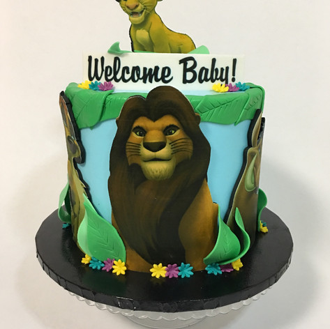 Babby Shower Cake