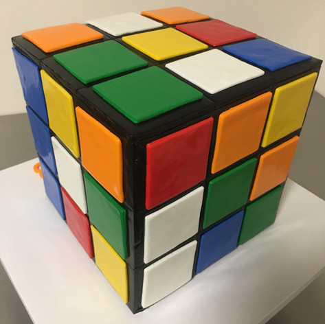 Rubix's Cube Cake