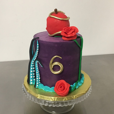 Descendants Birthday Cake