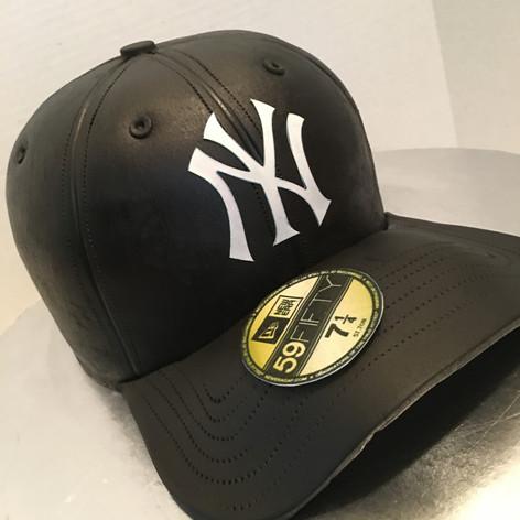 Baseball hat cakes