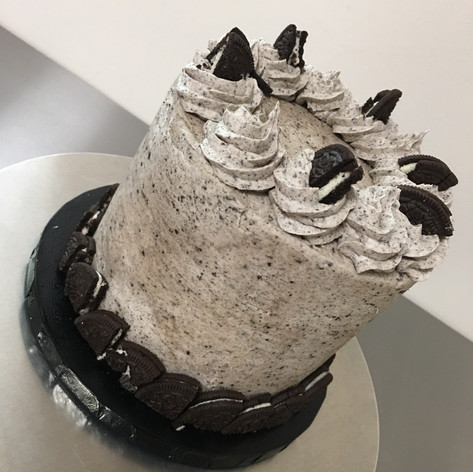 Cookies n Cream buttercream cake