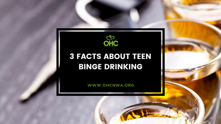 3 FACTS ABOUT TEEN BINGE DRINKING