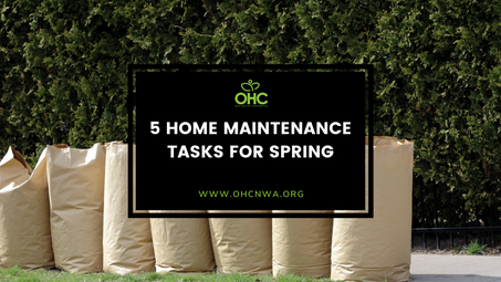 5 HOME MAINTENANCE TASKS FOR SPRING