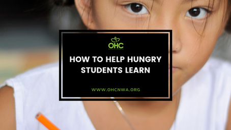 HOW TO HELP HUNGRY STUDENTS LEARN