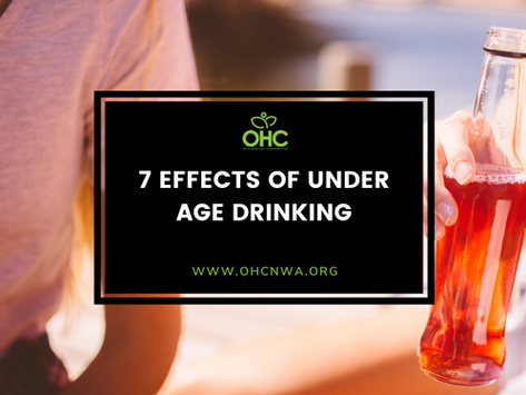 7 EFFECTS OF UNDER AGE DRINKING
