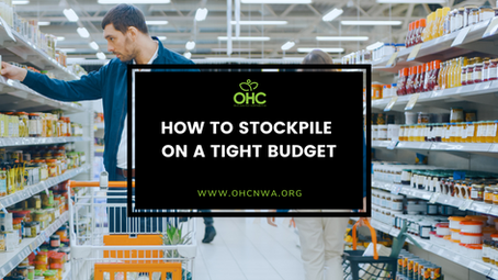 HOW TO STOCKPILE ON A TIGHT BUDGET