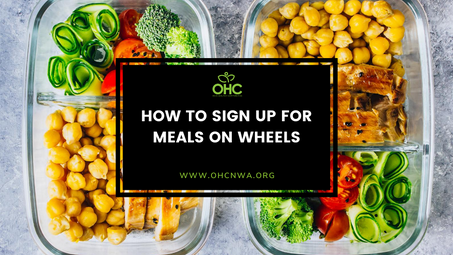 HOW TO SIGN UP FOR MEALS ON WHEELS