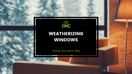 PRODUCTS FOR WEATHERIZING WINDOWS