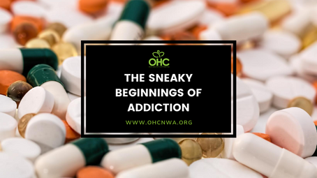 THE SNEAKY BEGINNINGS OF ADDICTION
