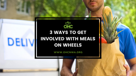 3 WAYS TO GET INVOLVED WITH MEALS ON WHEELS