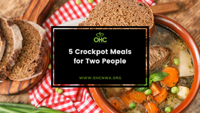5 CROCKPOT MEALS FOR TWO PEOPLE