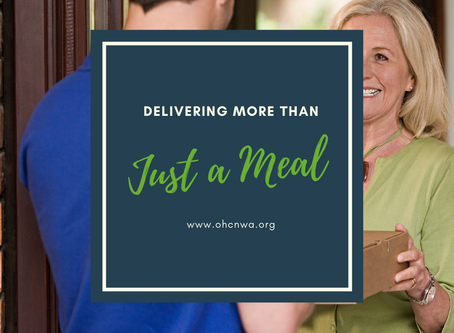 DELIVERING MORE THAN JUST A MEAL