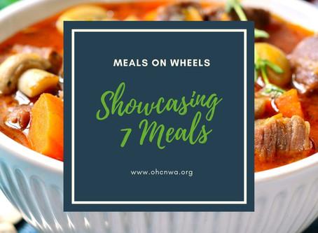 SHOWCASING 7 MEALS