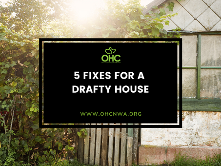 5 FIXES FOR A DRAFTY HOUSE
