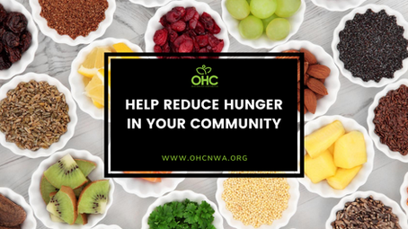 HELP REDUCE HUNGER IN YOUR COMMUNITY
