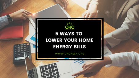 5 WAYS TO LOWER YOUR HOME ENERGY BILLS