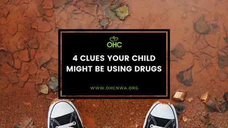 4 CLUES YOUR CHILD MIGHT BE USING DRUGS