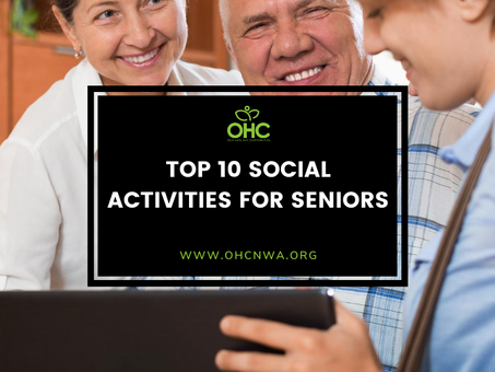 TOP 10 SOCIAL ACTIVITIES FOR SENIORS