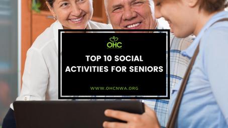 TOP 10 SOCIAL ACTIVITIES FOR SENIORS