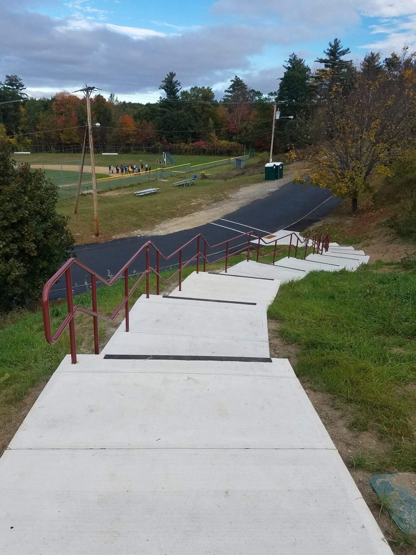 Commercial Stairway