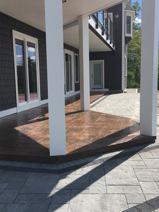 Stamped Patio / walkway