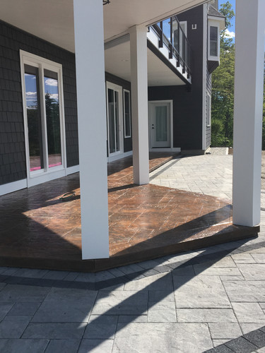 Stamped Patio / walkway
