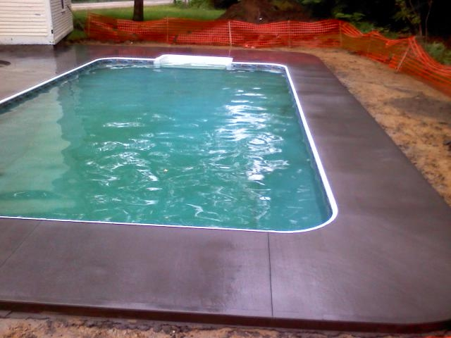 Bow Pool Deck 2