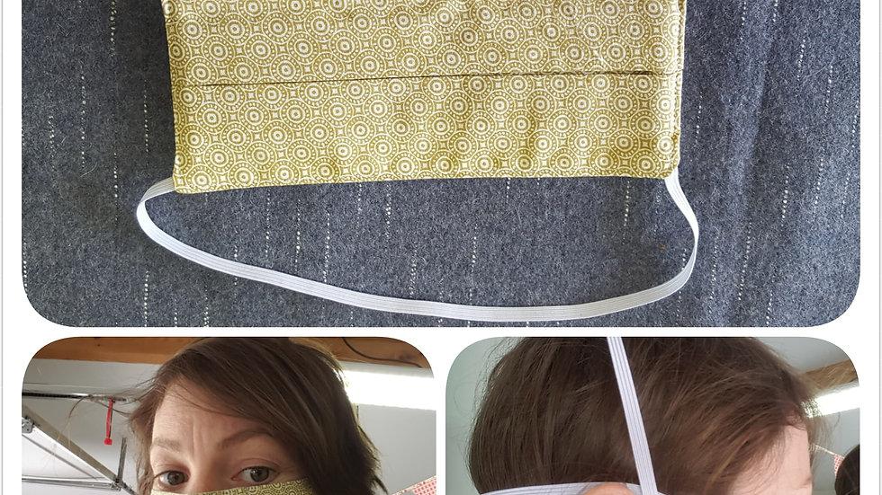 Masque barrière anti projection   de 8 à 11€