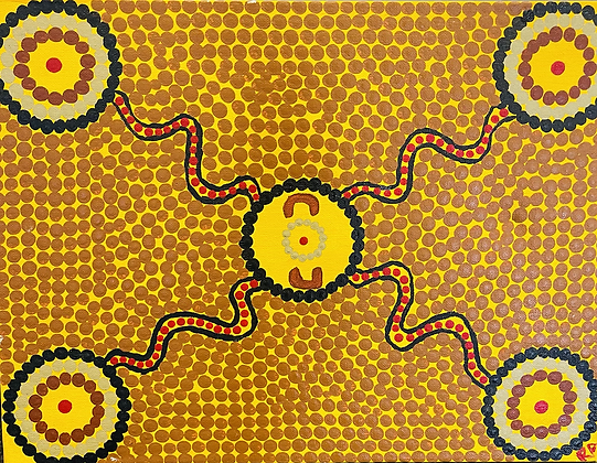 Connected to ochre