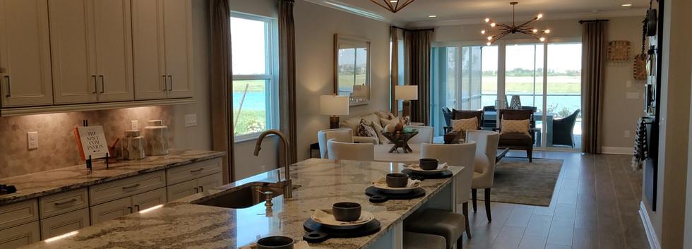 Worthington model home open concept