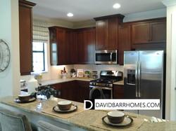 Bellacina model home kitchen