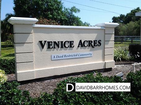 Venice Acres Venice FL homes for sale