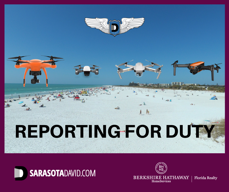 David Barr's fleet of drones for Lakewood Ranch real estate