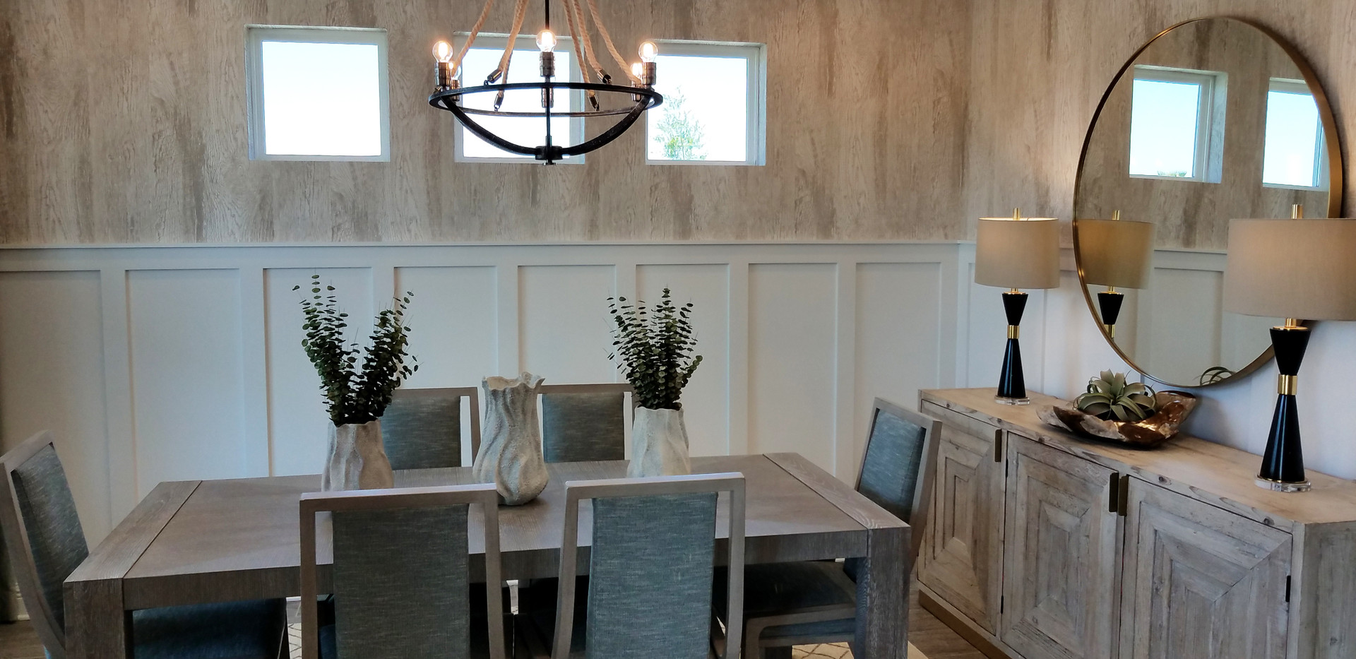 Worthington model home dining room