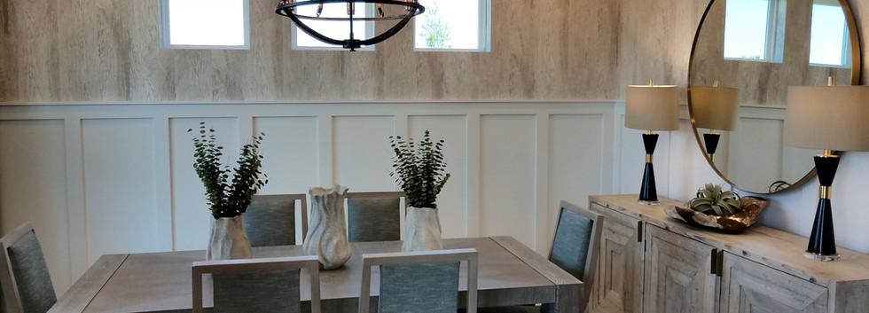 Worthington model home dining room
